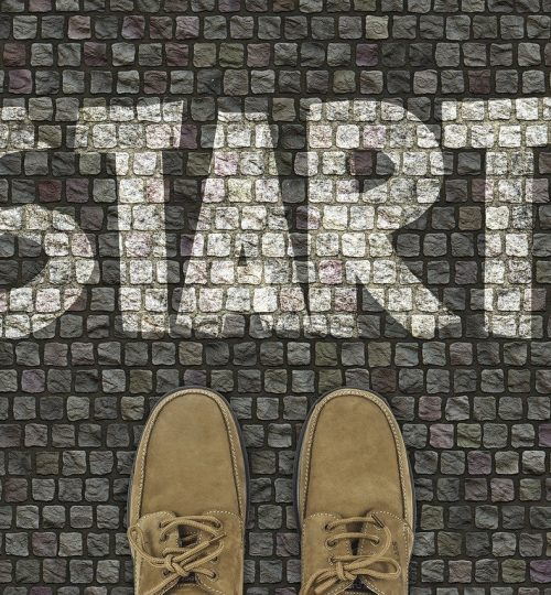 start, shoes, road surface